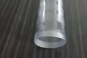 天长PC管厂家直销注塑款透明PC管黄油枪防开裂塑料管